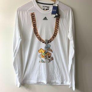 Adidas Miami Hurricanes Turnover Chain T-Shirt